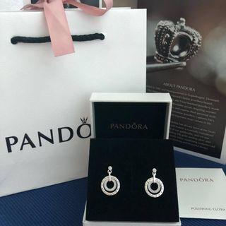 PANDORA Circles Hanging Earrings