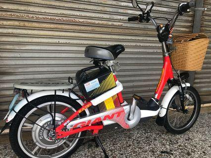 Giant electric bike. New battery have warranty