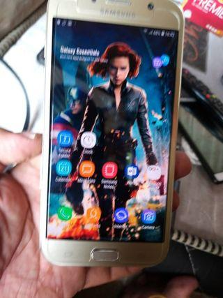 Samsung A7 2017 water dust sme like New