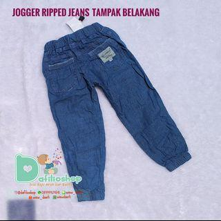 celana jogger jeans anak bayi balita