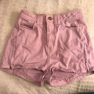 Lilac American Apparel Shorts