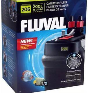 FLUVAL 206 CANISTER EXTERNAL FILTER