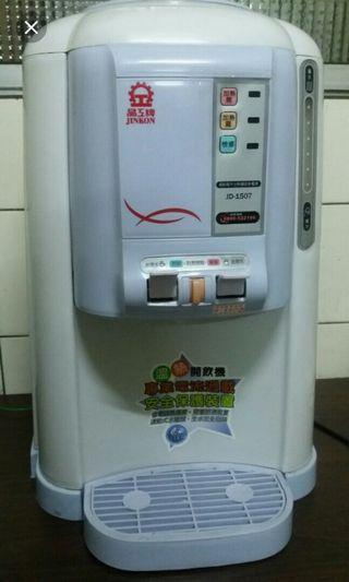 晶工牌溫熱開飲機