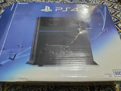 PS 4 Fat 500 GB + 1 controller
