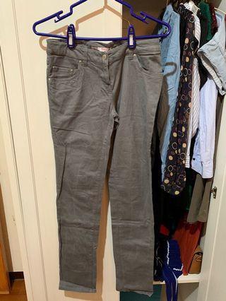 🚚 [二手] 瑞士 TALLY WEiJL 灰色彈性長褲 #半價衣服拍賣會