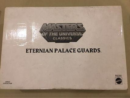 MOTUC Eternian Palace Guards Action Figure Pack MISB Masters of the Universe Classics