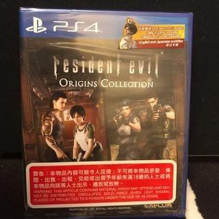 Ps4 Resident Evil Origins Collection