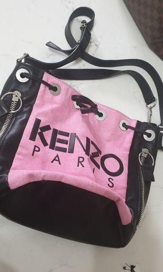 Kenzo pink bucket bag