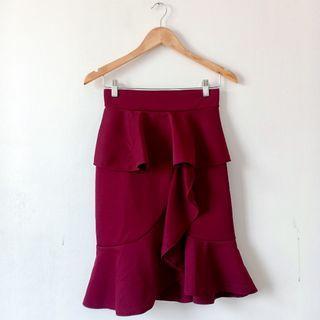 Scallop Skirt