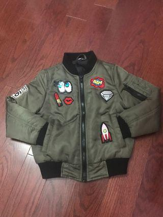 Girls bomber jacket
