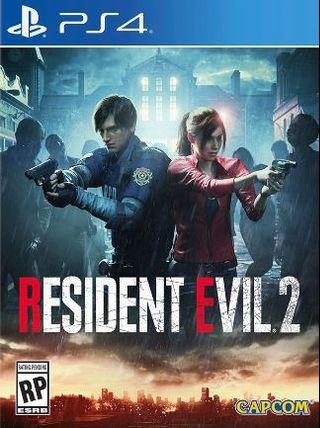 🚚 WTS RE2 PS4