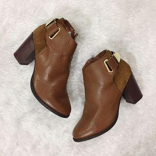 Brown Boots with Heels