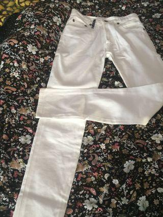 White jeans 27