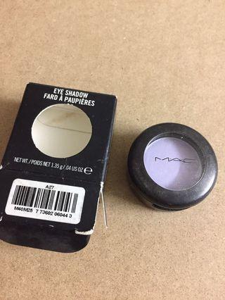 MAC purple eyeshadow