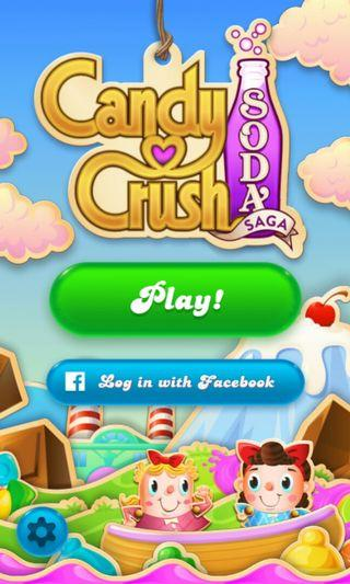 candy crush soda 帳戶