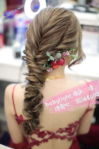 女神髮膜,babylight,梨花頭,直療,染髮,Hair