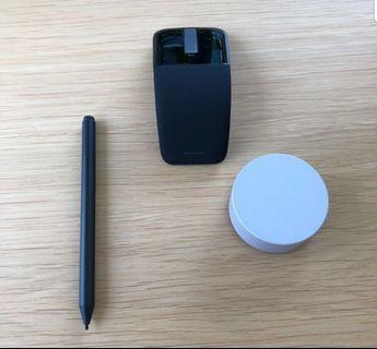 Microsoft Dial + Pen + Arc Touch Mouse