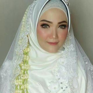 Jasa rias pengantin muslimah syar'i