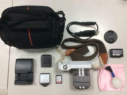 🚚 Sony Nex-3微單眼相機+鏡頭