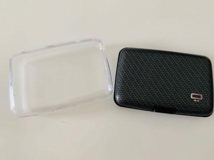 Ogon Smart Aluminium Wallet Carbon Fiber Edition