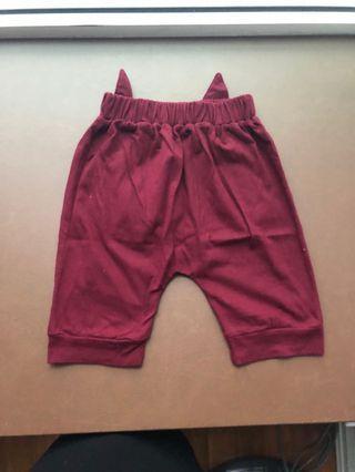 🚚 BN Maroon Toddler Pants