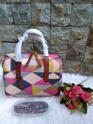 Fossil multipink pink rare
