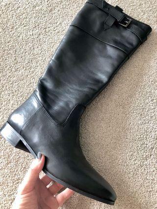New winter leather boots 9