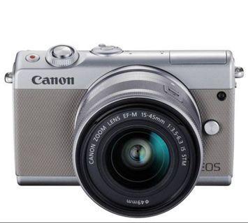 Canon M100 Mirrorless Cam