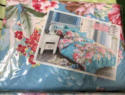 Silk bed sheet set