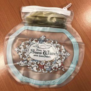 Disney 扭蛋 白雪公主 Snow White 拉鍊袋 小物袋 包平郵