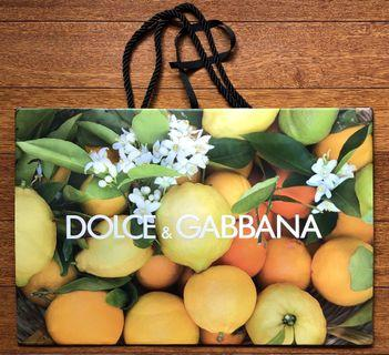 Dolce & Gabbana Limited Edition Paper Bag