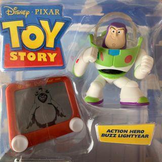 低價 盒裝 巴斯光年 畫板 BUZZ 兒童 玩具總動員 皮克斯 動畫 迪士尼 disney
