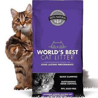 World's Best Cat Litter - Multi Cat Clumping Formula (Lavender)