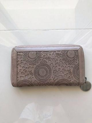 WITCHERY Women's purse handmade beige