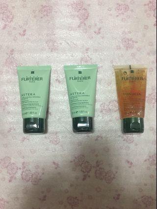 Furterer Shampoo bundle of 3