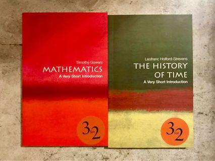 A very short introduction to The History of Time & Mathematicis