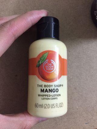 NEW! The Body Shop mango