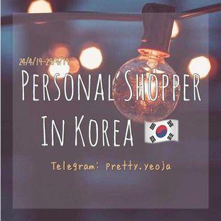 PERSONAL SHOPPER IN KOREA