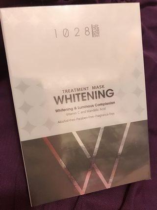 1028台灣美白保濕面膜 1盒