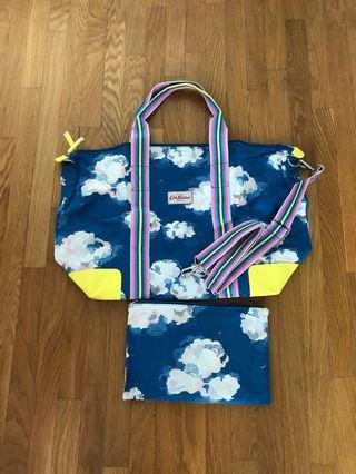 Cath Kidston foldable overnight bag BN