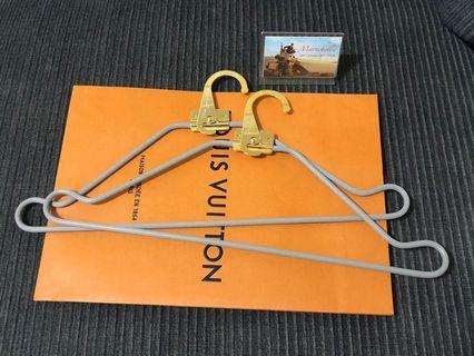 Louis Vuitton hangers