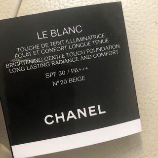 Chanel Le Blanc Foundation Cushion Sample Tester