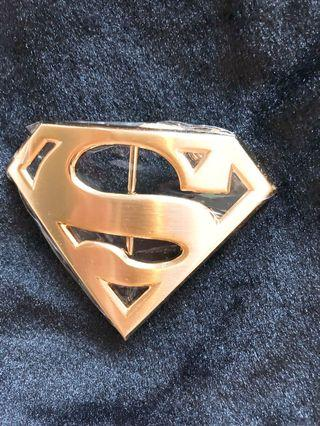 Superman Belt Buckle #endgameyourexcess