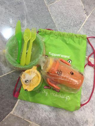 Tupperware toddler set