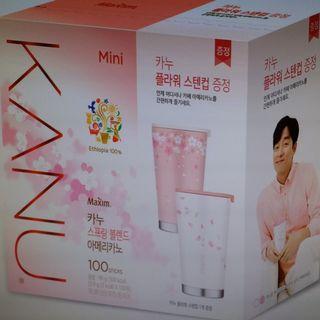 Kanu迷你裝Americano咖啡/冰美式咖啡 (韓國代購)