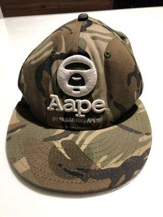 Aape By*A Bathing Ape Camouflaged Cap