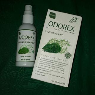 ODOREX / DEODORANT SPRAY / DEOREX