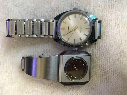 70's Vintage Seiko Tomony Hand Winding Watches