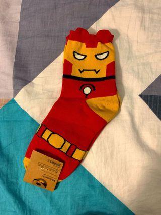 Marvel Ironman socks 復仇者聯盟