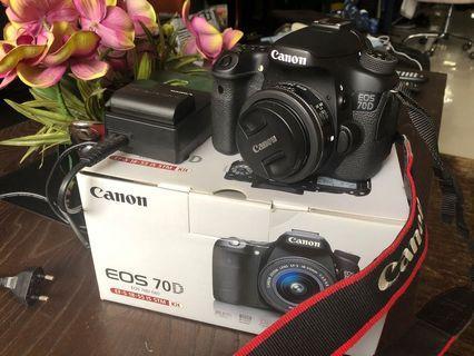 🚚 Canon 70D